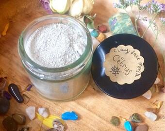 Citrus Clay Face Mask - Artisan Aromatherapy - Pure Greek Bentonite Clay Powder - Natural Detoxifier