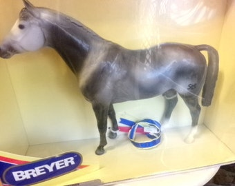 Breyer Horse Glossy Dappler, Retired Breyer horse, collectible Breyer horse, gift for her, git for him