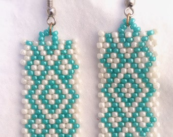 White & turquoise PRICES REDUCED!!!