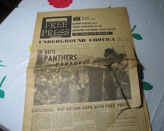 Los Angeles FREE PRESS Vol. 4, #33 (Issue #161) 1967