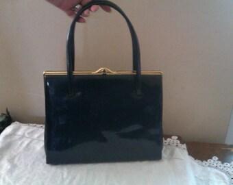 Vintage handbag in blue