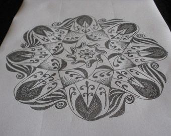 doodle mandala 1