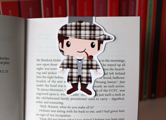 Sherlock Holmes Magnetic Bookmark | Sherlock Gift Guide