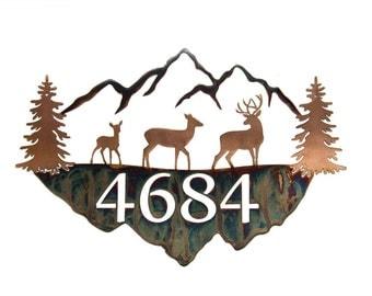 Mountain Address Sign