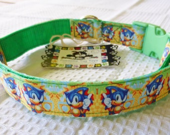 Dog Collar Sonic the Hedgehog Large