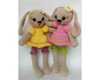 Amigurumi sugar bunny-rabbit pattern