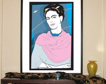 "Frida Nagel 24""w x 30""h Giclee"