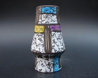 Sixties Bay vase Paris Bodo Mans abstract German ceramics