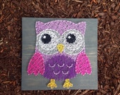 MADE TO ORDER- Owl String Art