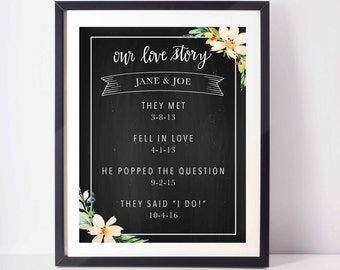 Love Story Custom Print