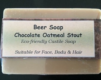 Beer soap - Chocolate Oatmeal Stout TEMP OUT OF Stock**