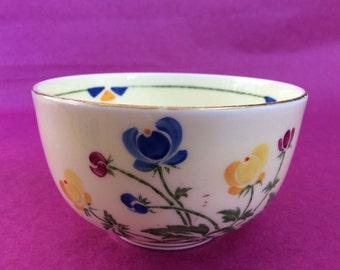 Vintage English small bowl by Crown Staffordshire circa 1930's