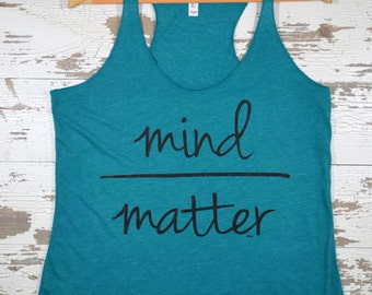 Women's Gym Tank, Motivational Tank, Workout Tank