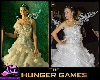 Katniss Everdeen Costume Cosplay - Wedding Dress - Hunger Games