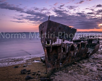 Shipwreck - Gayundah, Woody Point (Digital Image)