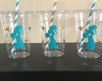 Aladdin party cups, Jasmine party cups