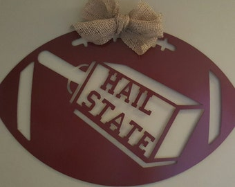 Mississippi State, Mississippi State Bulldogs, metal football
