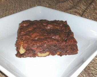 Fudge Brownie with Walnuts