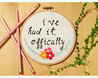 Custom Embroidery (Made to order)