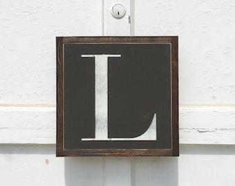 1'X1' Custom Letter Sign
