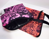 BLACK LINING Waterproof Pouch, for Reusable Feminine Products, Set of 2 Personal Size Wet Bags,  PUL, Quick Dry Design