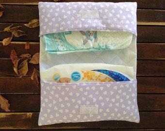 Travel diaper change port