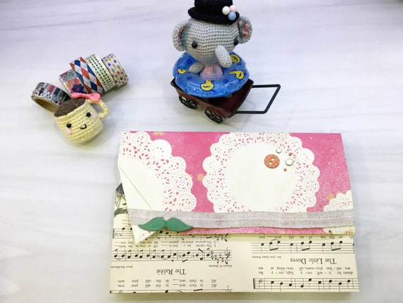 Pinky Music Paper clutch/ Gift Envelope