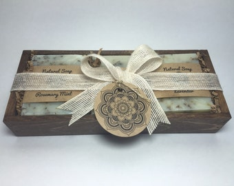 Handcrafted Soaps Gift Set