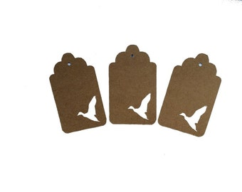 Flying Duck Gift Tags