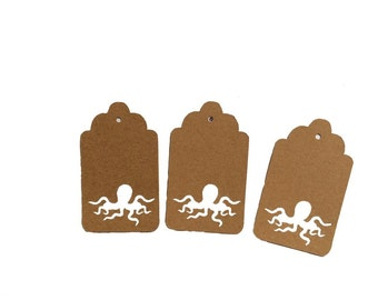 Octopus Gift Tags