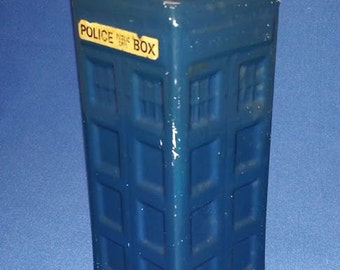 Police Box, Tardis, Doctor Who style Ceramic Money Box