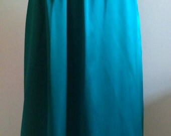 Vintage Turquoise Skirt.  New with tags.
