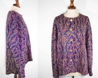 OFF 10% - 80s jacket bling /  embroidered lamè jewel jacket / high quality blazer
