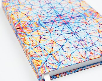 Writing Journal / Travel Journal / Travel Diary / Notepad / Note Book / Colorful Journal / Glimmer Journal