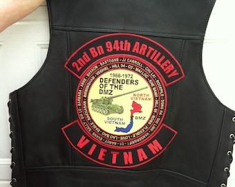 2nd Bn 94th Artillary 3 Piece Patch Set