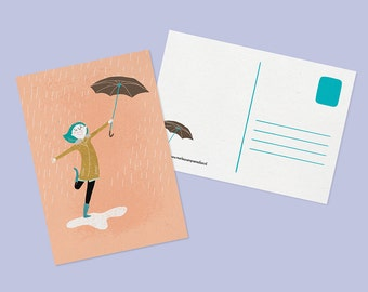 Postcard - AUTUMN - 4.1 x 5.8 - A6