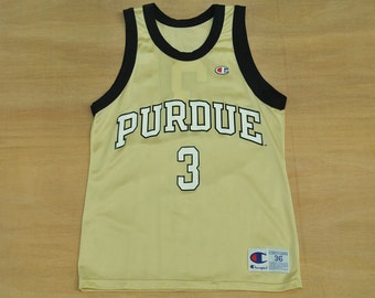 Purdue Boilermakers - Size S / 36 - Vintage Champion - NCAA College Basketball Jersey