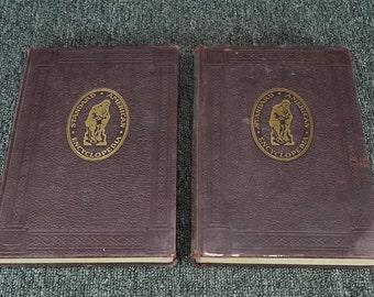 American Standard Encyclopedia Vol. 1 & 2 Set Of Two Books C.1939