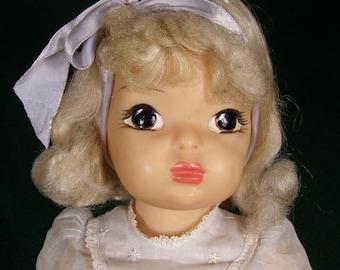 Vintage Terri Lee Doll~Platnum Blond~NICE