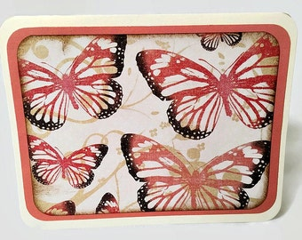 Blank Notecard Set - Butterfly Notecards -  Stationery Set - Hostess Gift
