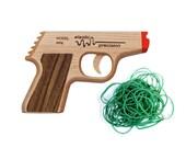 Model PPK Rubber Band Gun --- Maple