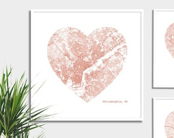Philadelphia Heart Map