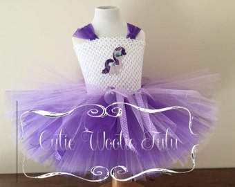 My little pony - Rarity tutu dress (Knee Length)