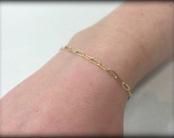 14k Gold Filled Bracelet-Sterling Silver Bracelet-Everyday Bracelet-Layering Bracelet-Dainty Bracelet-Simple Bracelet-Bridesmaid Bracelet
