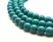 2mm Natural Turquoise Beads 2mm Round Turquoise 2mm Turquoise Beads 2mm Tiny Turquoise Beads Blue Turquoise Rough Real Turquoise Stone