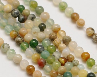 2mm Natural Indian Agate Beads Round 2mm Indian Agate 2mm 2mm Agate 2mm Beads 2mm Round Agate Indian Round Agate Buddhist Beads