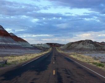 Painted Desert Arizona Travel Photography Print