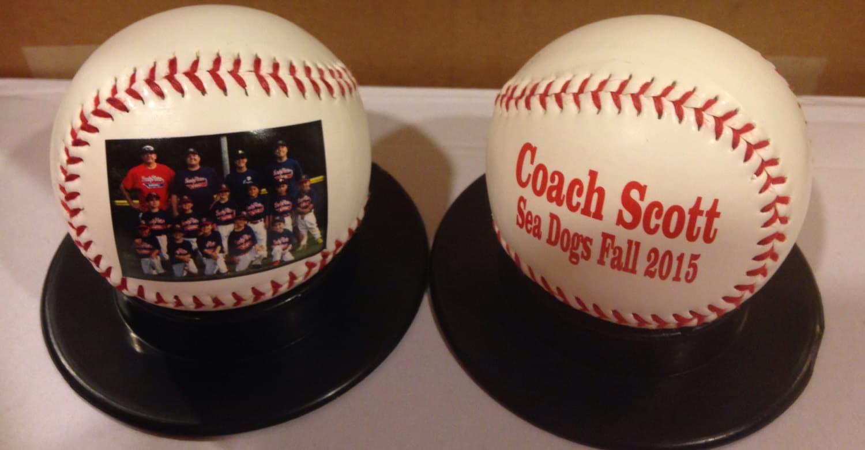 afb488e40cb Personalized baseball coach gift