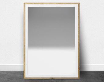 Minimalist, Printable Art, Black and White Print, Black and White Photography, Abstract Photography, Ombre, Shades of Gray, Monotone Print