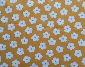 Vintage Retro Floral Cotton Sheet 170cm x 250cm